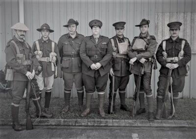 'A' Company, 15th Battalion